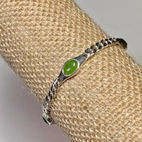 Genuine Sterling Silver Jade Bracelet Ashburn