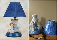 BNIB Teddy Bear Lamp - Blue Theme - Comes with On/Off Switch Toronto, M3H