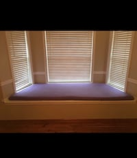 Window Seat Cushion beautiful . purple. Custom Made. Excellent