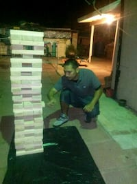 For rent-- giant jenga Mission, 78574