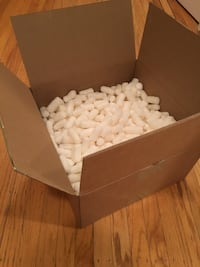 Foam packing peanuts