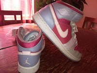 gray-pink-white nike air jordan 1 North Las Vegas