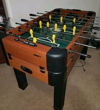 black and brown foosball table Macungie, 18062