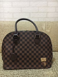 Damier Ebene Louis Vuitton läder totesäck Angered, 424 65