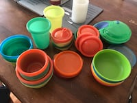 Assorted Baby food pots, lids and cups Guelph/Eramosa, N1E 0P1