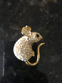 Joan Rivers mouse pin with crystals West Melbourne, 32904
