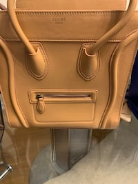 Beige bag 100% leather Greenbelt, 20706