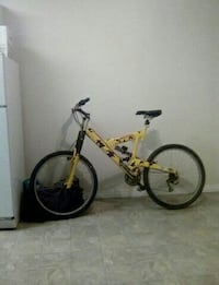 yellow and black full-suspension mountain bicycle Edmonton, T6H 4X1