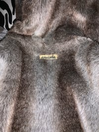 Reversible leather/faux fur coat baby phat