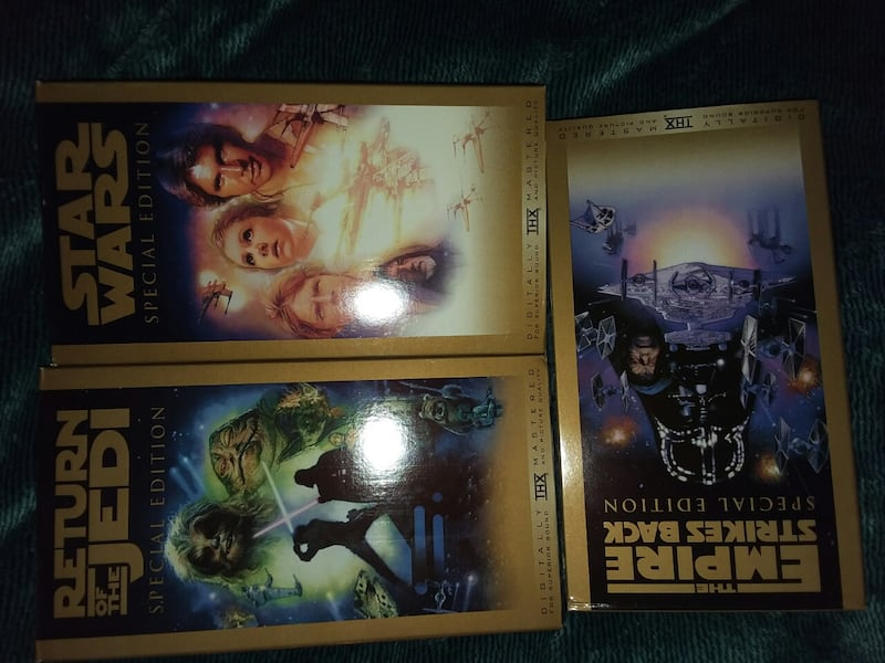 STAR WARS TRILOGY Special Edition, VHS Boxed Set c4c8850a-0612-4cd0-835c-e2be9901e6e5