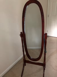brown wooden framed cheval mirror Fort Washington, 20744