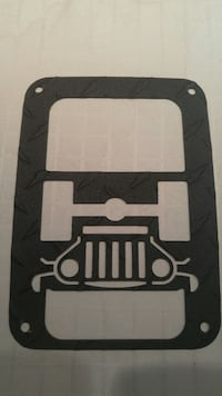 Jeep - Wrangler - tail light covers. Windsor, N8P 1W7