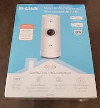 D-Link Mini HD Wi-Fi Camera Cloud Recording Sound and Motion Detection Toronto