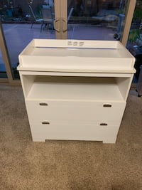 South Shore Reevo Changing Table With Storage In Pure White Long Beach, 90815