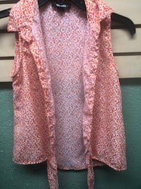 women's pink and white floral cardigan Norco, 92860