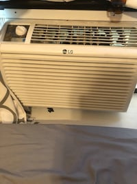 white LG window type air conditioner Washington, 20024