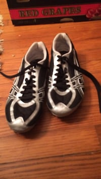 pair of white and black Asics sneakers Mechanicsville, 23111