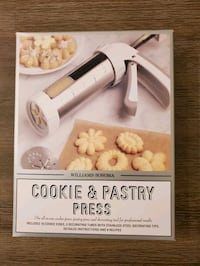 Never opened! Williams Sonoma Cookie & Pastry Press Tysons, 22102