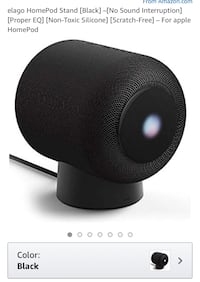 BRAND NEW silicone stand for apple home pod. This is the STAND/base only. Sells 37.99 Toronto, M4M