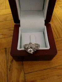 silver-colored ring 925with box  Toronto, M1M