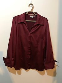 Cleo French cuff blouse - xl