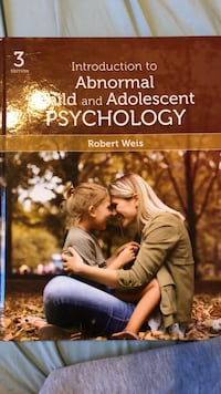 Psychology textbook for 4th year course  Toronto, M6E 1Y2