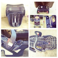 black and gray car seat carrier collage Dayton, 45419