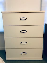 White 4 Drawer Dresser Ellicott City, 21042