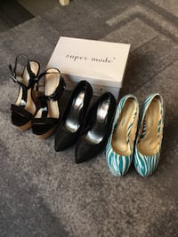 Size 38. 300kr for all.