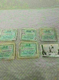 WWII MILITARY CURRENCY AND A PIC Newark