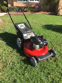 red and black push mower NORTHHOLLYWOOD