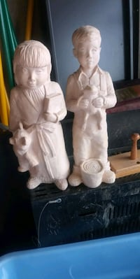 "14"" Resin boy & girl yard ornaments Hagerstown, 21740"