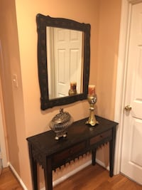 Console with mirror Ashburn
