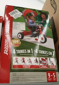 Radio Flyer trike box Calgary, T3M 1G8