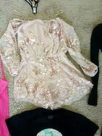 Gold Sequence Romper Paramount, 90723