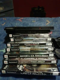 Ps2 and 9 games