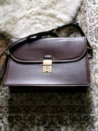coach leather brief case Chantilly, 20151