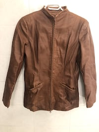 Danier 100% Authentic Brown Leather Jacket Size XS
