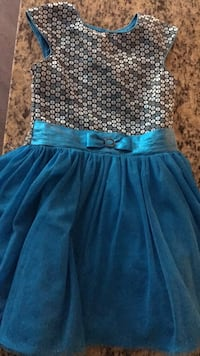 Dress girls size 8. Smoke and pet free home