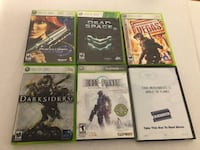 6 XBox 360 games  Independence, 97351