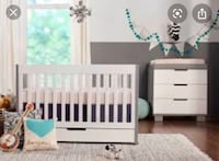 "Adjustable baby crib (infant to toddler) 54""x30""x35"" Fairfax, 22033"