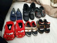 Boys shoes size 3-7 ( will separate for 10$ each) Mission, V2V 0A3