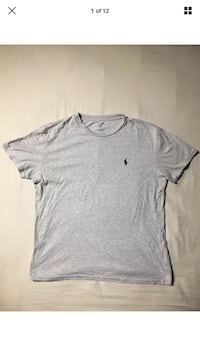Polo Ralph Lauren Authentic Solid Grey Pony Crested Logo T-Shirt Size SMALL London, N6G 2Y8