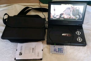 Audio vox DVD player