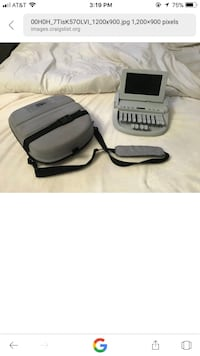 gray electronic device with sling bag Clovis, 93611