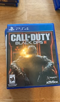 PS4 Game Bundle. COD 3, Prototype, street fighter 5 Annapolis, 21409