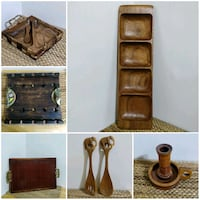 Wood serving pieces and trays Toronto, M2J 2C2