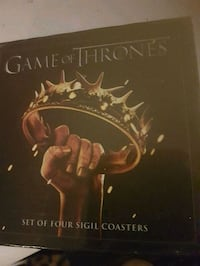Game of thrones coasters NEW