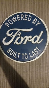Ford Metal Wall Sign Chino, 91710