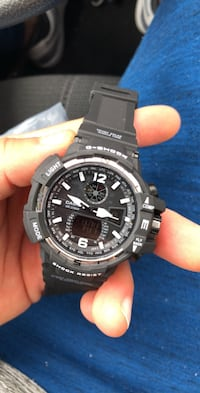 round black Casio G-Shock digital watch San Antonio, 78209
